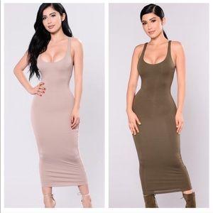 NWT Fashion Nova BodyCon Dress Bundle